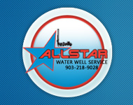 Allstar Water Well Service Logo